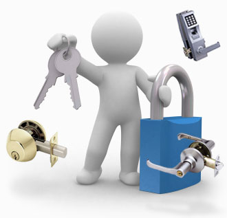 darbyville locksmith fixing lock